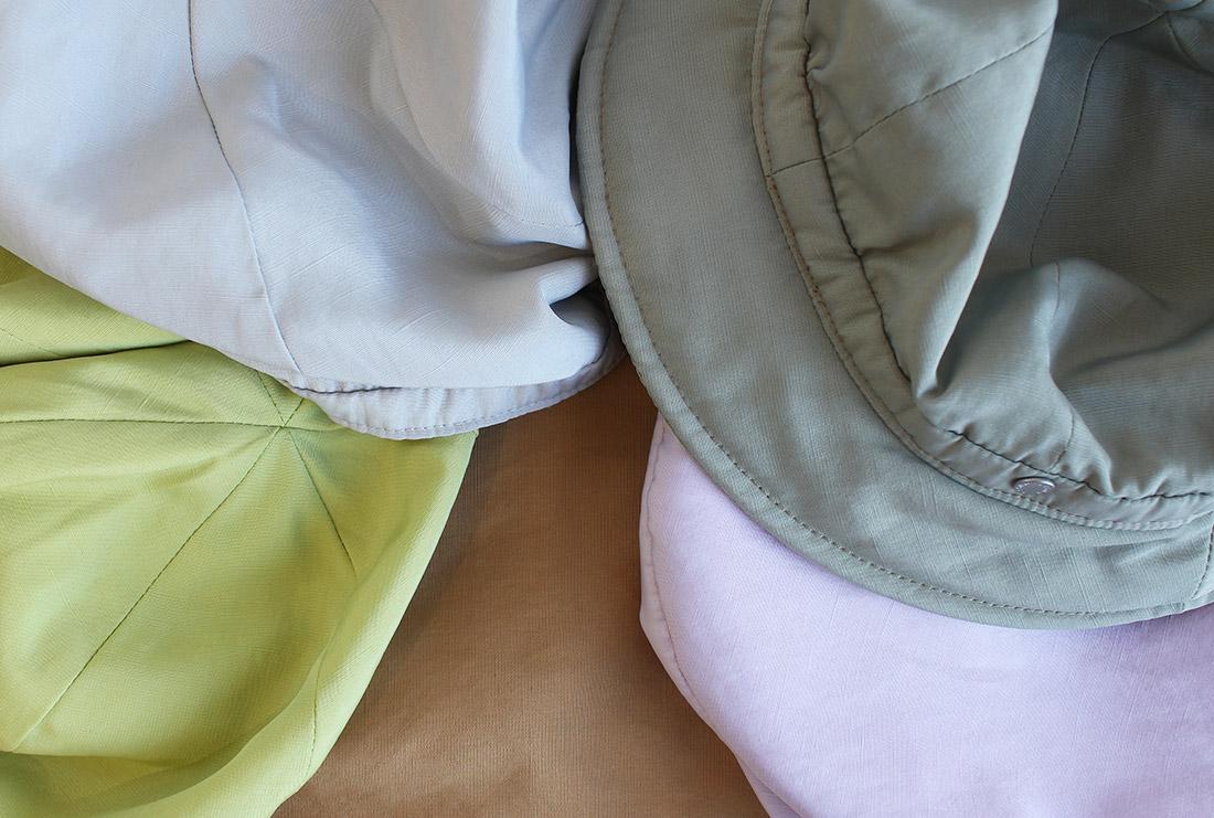 中間色で染め上げた肌触りの良いポリエステルリネンシリーズ  特集ページ